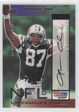 2000 Collector's Edge Odyssey Rookie Ink #LC - Laveranues Coles /1400