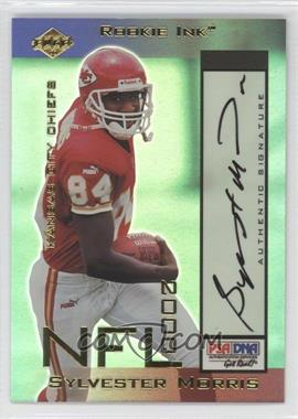 2000 Collector's Edge Odyssey Rookie Ink #SM - Sylvester Morris /540