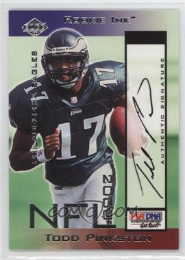 2000 Collector's Edge Odyssey Rookie Ink #TP - Todd Pinkston /1035