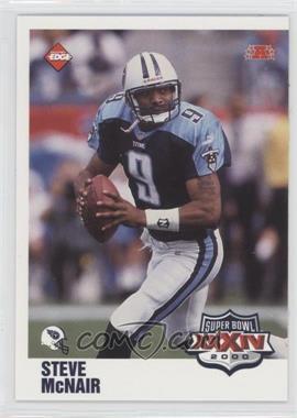 2000 Collector's Edge Super Bowl XXXIV - [Base] #T7 - Steve McNair