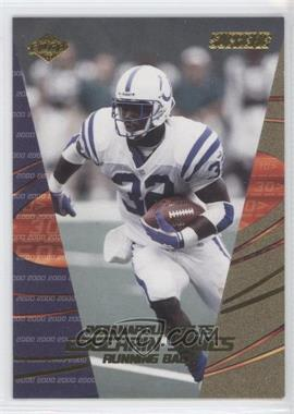 2000 Collector's Edge Supreme Previews #EJ - Edgerrin James