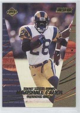 2000 Collector's Edge Supreme Previews #N/A - Marshall Faulk