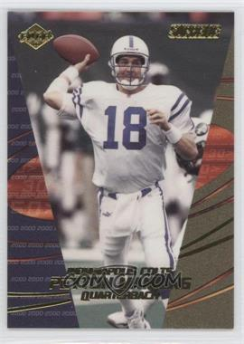 2000 Collector's Edge Supreme Previews #PM - Peyton Manning