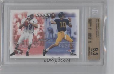 2000 Dominion #234 - Giovanni Carmazzi, Tom Brady [BGS9.5]
