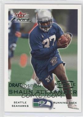 2000 Fleer Focus - [Base] - Draft Position #241 - Shaun Alexander