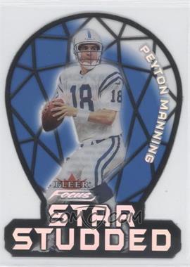 2000 Fleer Focus [???] #1SS - Peyton Manning