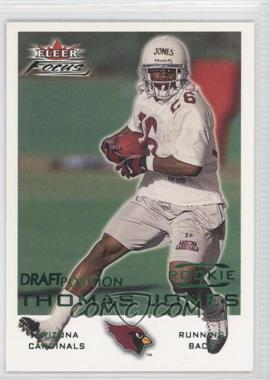 2000 Fleer Focus [???] #236 - Thomas Jones /107