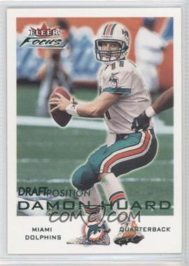 2000 Fleer Focus Draft Position #174 - Damon Huard /98