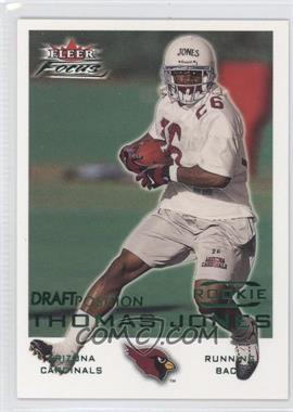 2000 Fleer Focus Draft Position #236 - Thomas Jones /107
