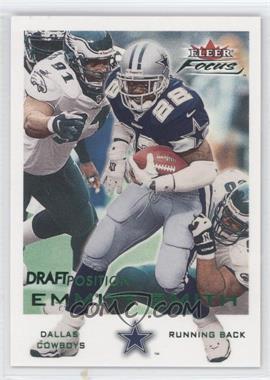 2000 Fleer Focus Draft Position #36 - Emmitt Smith /117