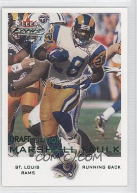 2000 Fleer Focus Draft Position #78 - Marshall Faulk /102