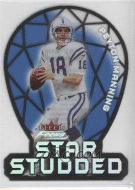 2000 Fleer Focus Star Studded #1 SS - Peyton Manning