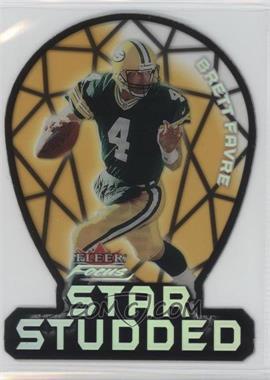 2000 Fleer Focus Star Studded #15 SS - Brett Favre