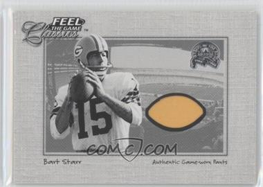 2000 Fleer Greats of the Game Feel the Game Classics #N/A - Bart Starr