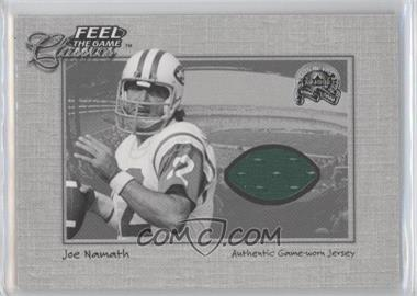 2000 Fleer Greats of the Game Feel the Game Classics #N/A - Joe Namath