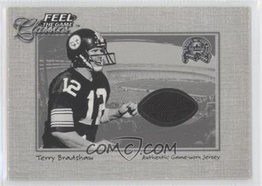2000 Fleer Greats of the Game Feel the Game Classics #N/A - Terry Bradshaw