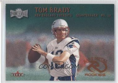 2000 Fleer Metal Emerald #267 - Tom Brady