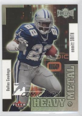 2000 Fleer Metal Heavy Metal #1 HM - Emmitt Smith