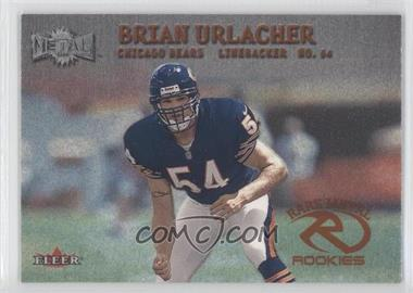 2000 Fleer Metal #274 - Brian Urlacher