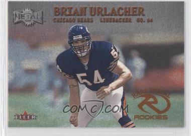 2000 Fleer Metal #274 - Brian Urlacher
