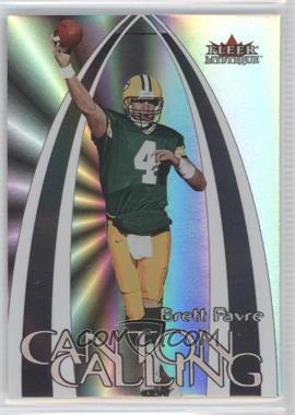 2000 Fleer Mystique Canton Calling #4 CC - Brett Favre