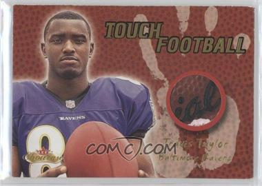 2000 Fleer Showcase Touch Football #N/A - Travis Taylor