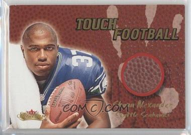 2000 Fleer Showcase Touch Football #SHAL - Shaun Alexander