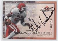 Mike Anderson /250