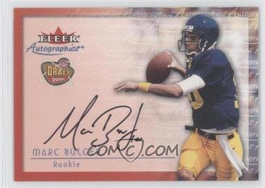 2000 Fleer Tradition Autographics #MABU - Marc Bulger