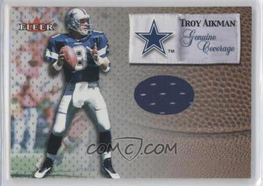 2000 Fleer Tradition Genuine Coverage #TRAI - Troy Aikman