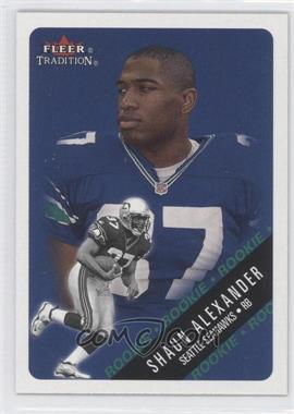 2000 Fleer Tradition #331 - Shaun Alexander