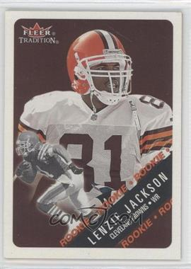 2000 Fleer Tradition #417 - Lenzie Jackson /250