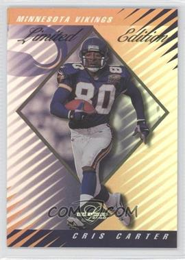 2000 Leaf Limited - [Base] - Limited Edition #176 - Cris Carter /35