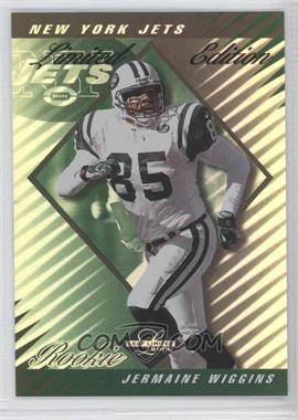 2000 Leaf Limited - [Base] - Limited Edition #319 - Jermaine Wiggins /50