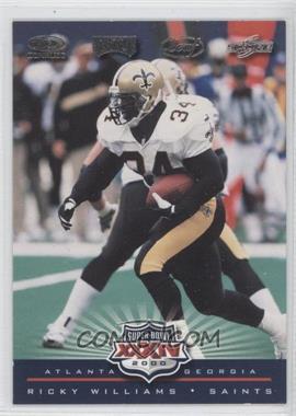 2000 NFL Experience Super Bowl XXXIV #SB-7 - Ricky Williams