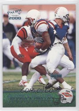 2000 Pacific - [Base] - Draft Picks Platinum Blue #433 - Roman Phifer /399