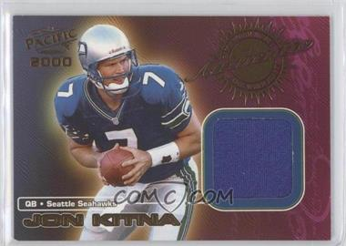 2000 Pacific Game-Worn Jerseys #7 - Jon Kitna