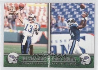 2000 Pacific Gold #385 - Keith Davis, Larry L. Brown, Kevin Daft /199