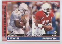 Jamal Lewis, Tee Martin /500