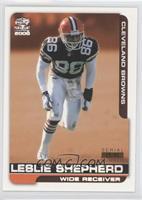 Leslie Shepherd /85