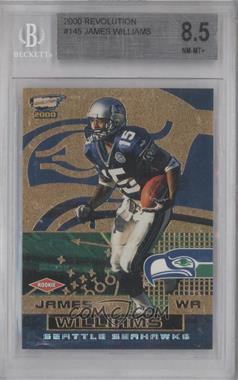 2000 Pacific Revolution #145 - James Williams [BGS 8.5]