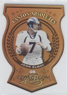 2000 Playoff Absolute - Canton Absolutes #CA 4 - John Elway