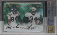 Ricky Williams, Randy Moss /10 [BGS 9]