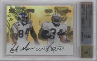 Randy Moss, Ricky Williams /1 [BGS 9]