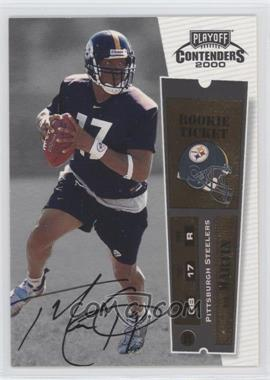 2000 Playoff Contenders - [Base] #141 - Tee Martin