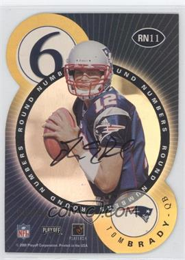 2000 Playoff Contenders Round Numbers Autographs Gold #RN11 - Marcus Buckley, Marc Bulger /60
