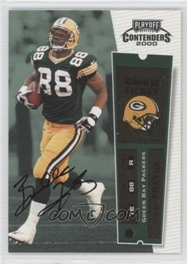 2000 Playoff Contenders #111 - Bubba Franks