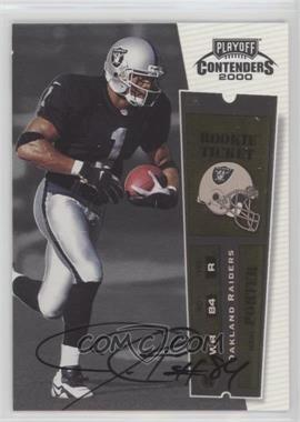 2000 Playoff Contenders #120 - Jerry Porter