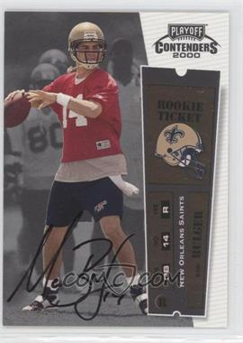 2000 Playoff Contenders #143 - Marc Bulger