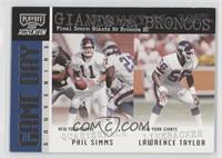 Phil Simms, Lawrence Taylor